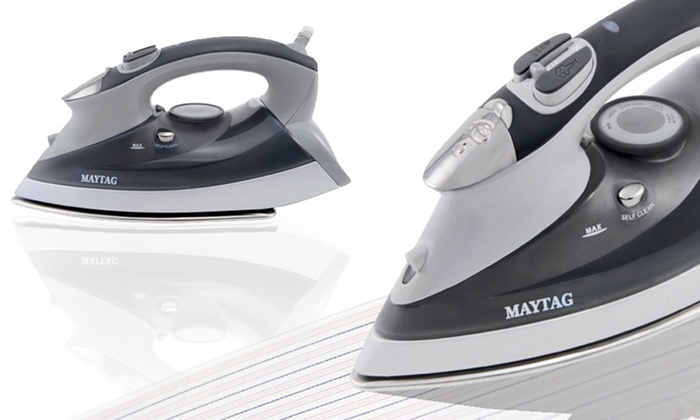 Maytag Speed Heat Iron and Steamer: $49 for a Maytag Speed Heat Iron and Steamer ($99.99 List Price). Free Shipping and Free Returns.