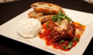 Nico Ristorante: Authentic Italian Cuisine at Nico Ristorante (Up to 38% Off). Two Options Available.