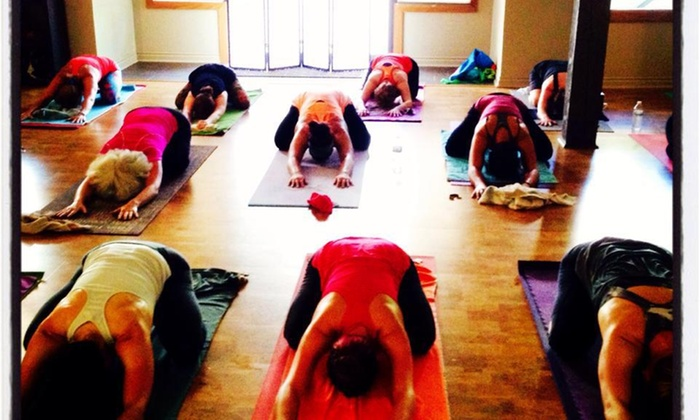 Holos Yoga - Downtown: Two Weeks of Hot Yoga Classes at Holos Yoga LLC (70% Off)
