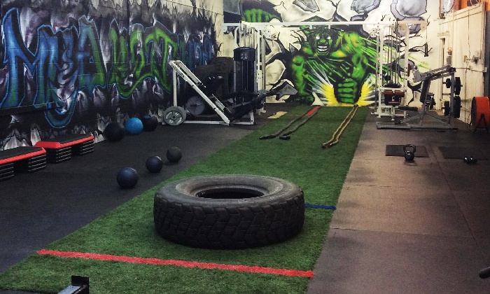 Raw Iron Gym - Sheridan: Four Weeks of Unlimited Boot-Camp Classes at Raw Iron Training (75% Off)