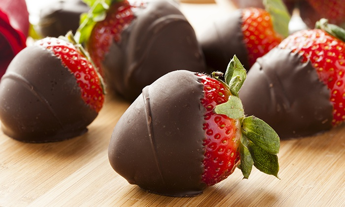 Mr. Dipper - Wayne: One or Two Dozen Chocolate-Covered Fruits at Mr. Dipper (Up to 52% Off)