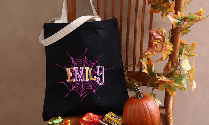 Personalization Mall: Custom Halloween Trick or Treat Bags & Buckets (Up to 50% Off)