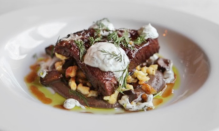 "Graham Elliot Bistro - West Loop: Dinner from ""MasterChef"" Graham Elliot (Up to 39% Off). Reservation Through Groupon Required."