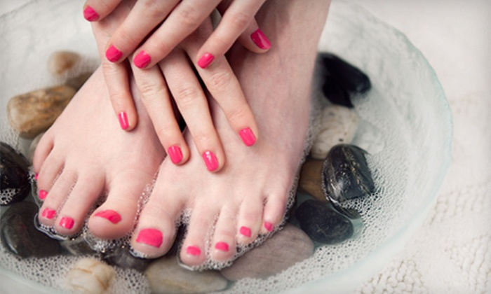 Kali's Kreative Nails - Wines: Two Shellac Manicures or One Shellac Mani-Pedi at Kali's Kreative Nails (Up to 65% Off)