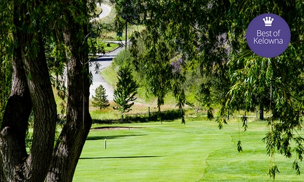 $74 for Golf for 2 with Cart, Range Balls, and Pro-Shop Credit at Twin Lakes Golf Course ($148 Value)