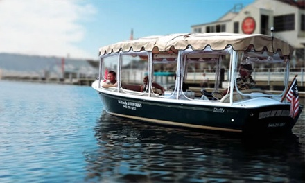 $159 for a 2-Hour Private Chauffeured Cruise for Up to 6 from Watts on the Harbor Cruises ($300 Value)