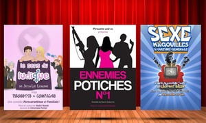 SpotLight:  2 places pour une comédie au choix, en juillet et août 2017, à 22 € au Spoltlight
