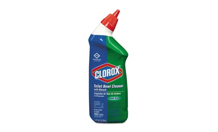 Clorox 24oz. Toilet Bowl Cleaner with Bleach 12-Pack