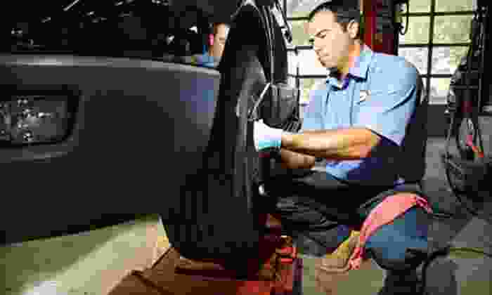 Just Brakes - Multiple Locations: Two- or Four-Wheel Premium Brake Service, Inspection, and Lifetime Warranty at Just Brakes (Up to 51% Off