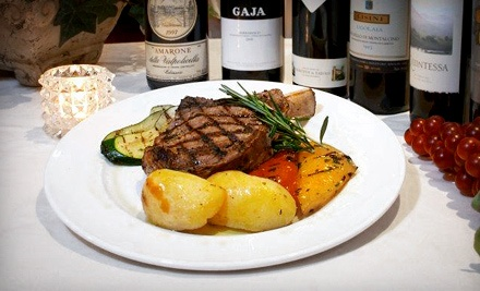 Three-Course Italian Dinner on Monday–Thursday or Friday–Saturday for Two at Giorgio D....