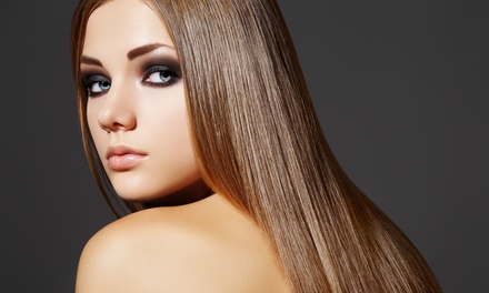 Haircut Package, Balayage Highlights, or Cezanne Keratin Treatment at Val El Salon and Spa (Up to 72% Off)