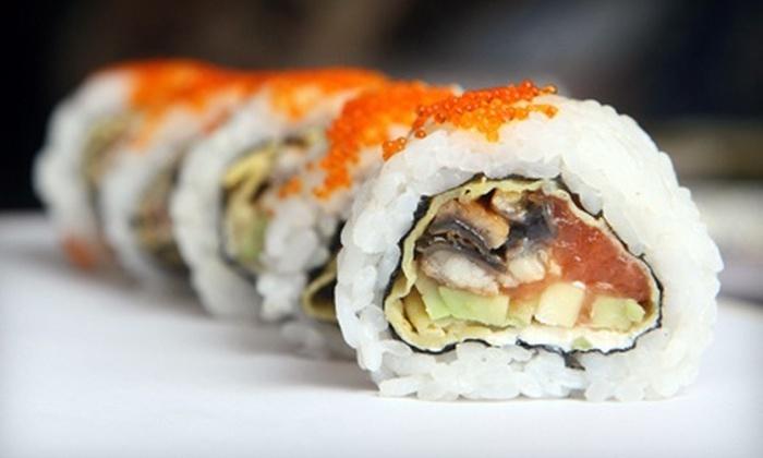Sakura Japanese Restaurant - Nashville-Davidson metropolitan government (balance): $15 for $30 Worth of Sushi and Japanese Cuisine at Sakura Japanese Restaurant