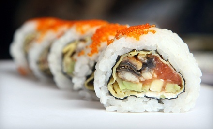 $15 for $30 Worth of Sushi and Japanese Cuisine at Sakura Japanese Restaurant