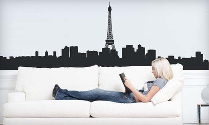 Easy Decals Inc: Wall Decals from Easy Decals Inc (Up to 70% Off). Two Options Available.