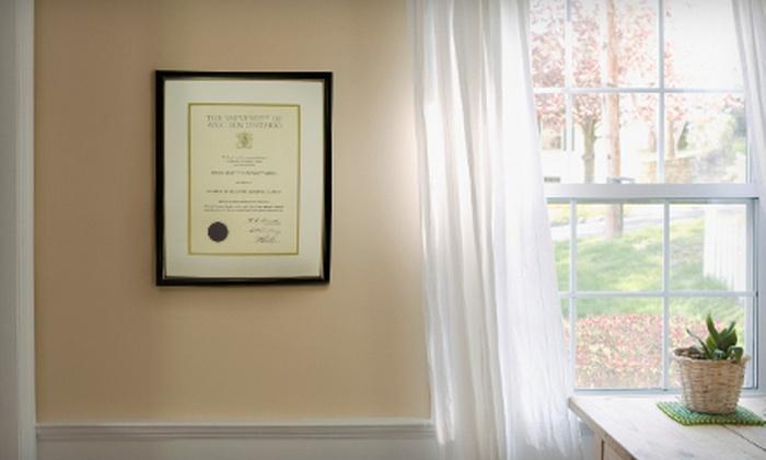 Creative Art & Frame - London, ON: $39 for $100 Toward Custom Diploma or Degree Framing at Creative Art & Frame