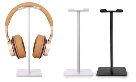 One or Two Aluminium Headphones Stands