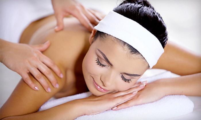Bernard's Salon and Spa - Springdale: Mani-Pedi, Deep-Tissue Massage, or Cleansing Facial with Eye Treatment at Bernard's Salon and Spa (Up to 53% Off)