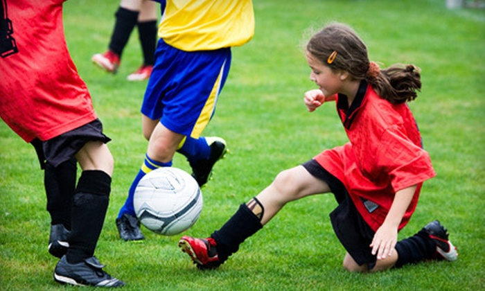 Monroe Multi-Sports Complex - Monroe: 1, 3, 6, or Up to 11 Weeks of Indoor-Outdoor Athletic Summer Day Camp at Monroe Multi-Sports Complex (Up to 62% Off)