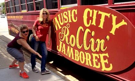 Music City Rollin' Jamboree Tour for Two, Four, or Six (Up to 49% Off)