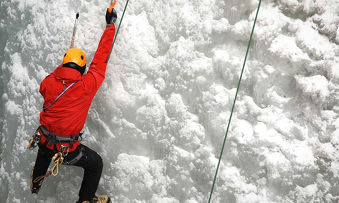 Snow Factor - Glasgow: Ice Wall Climbing (£19) With Meal (£25) at Snow Factor, Xscape