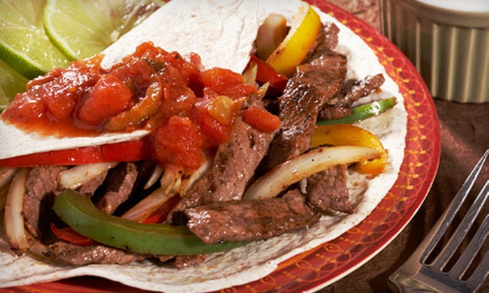 Hacienda Mexican Grill - Multiple Locations: Dinner or Lunch at Hacienda Mexican Grill (Up to 53% Off)