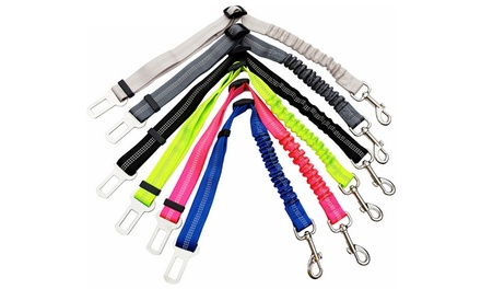 Adjustable Dog Safety Car Seat Belt: One $9.95 or Two $14.95