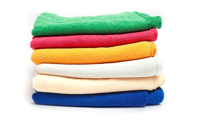 Regal Towel Collection Solid Microfiber Towels 6-Pack: Regal Towel Collection Solid Microfiber Towels 6-Pack