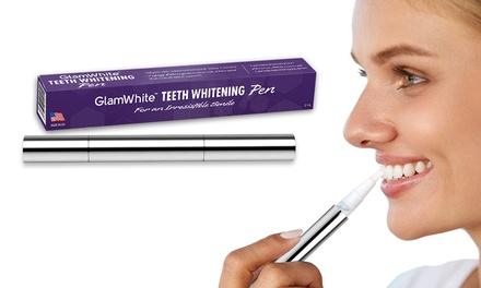 One, Two or Three Glam White Teeth Whitening Pens