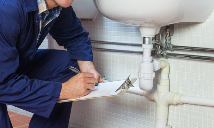 Yb Plumbing - Houston: Drain Cleaning and a Video Diagnostic Service from YB Plumbing (50% Off)