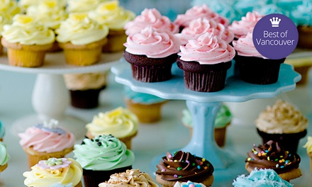 $7 for One Dozen Pre-Assorted Mini Cupcakes at Cupcakes on Thurlow ($14 Value)