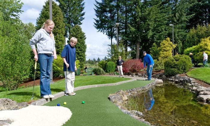 Tualatin Island Greens - Sherwood - Tualatin South: Miniature Golf at Tualatin Island Greens (Up to 47% Off). Three Options Available.