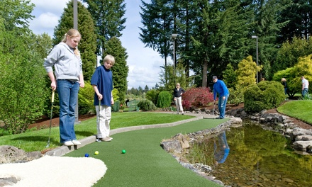 Miniature Golf at Tualatin Island Greens (Up to 47% Off). Three Options Available.