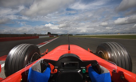OneHour F1 Grand Prix Driving Simulator Experience for Up to Five at The Race Centre