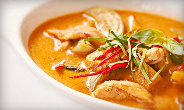 Thai Star Hoshi - West Palm Beach: $19 for a Thai Dinner for Two at Thai Star Hoshi (Up to $40.85 Value)