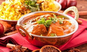 Bombay Kitchen: $13 for $20 Worth of Indian Dinner Cuisine and Nonalcoholic Drinks at Bombay Kitchen