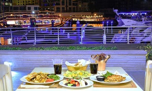 Grecian Grill Restaurant: Three-Course Greek Lunch or Dinner with a Soft Drink for Up to Four at Grecian Grill Restaurant (Up to 54% Off)
