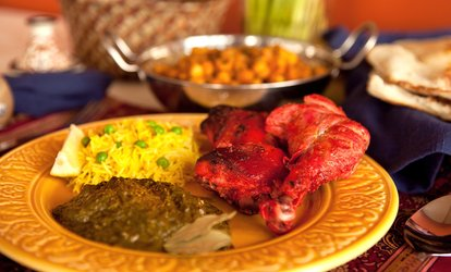 image for $11.50 for $20 Worth of <strong>Indian</strong> Food at Cuisine of India