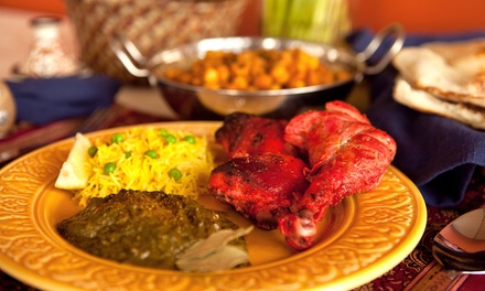 Indian Buffet or Two-Course Lunch for Two at Shri Bheema's Indian Restaurant, Six Locations (Up to 54% Off)