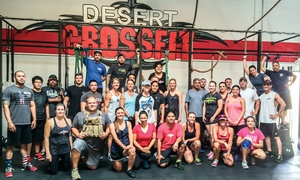 Desert CrossFit: One Month of Burner Boot Camp Classes or CrossFit 101 Intro Program