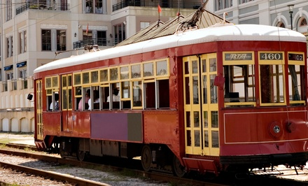 The Electric City Trolley Station & Museum Entry with Option for a Trolley Ride for Two or Four (50% Off)