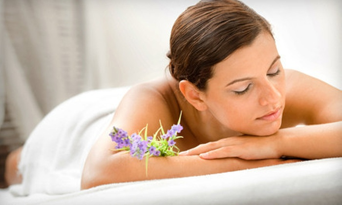 Domani Studio - Bel Air North: $95 for a Spa Package with Massage, Body Wrap, and Manicure at Domani Studio ($202 Value)