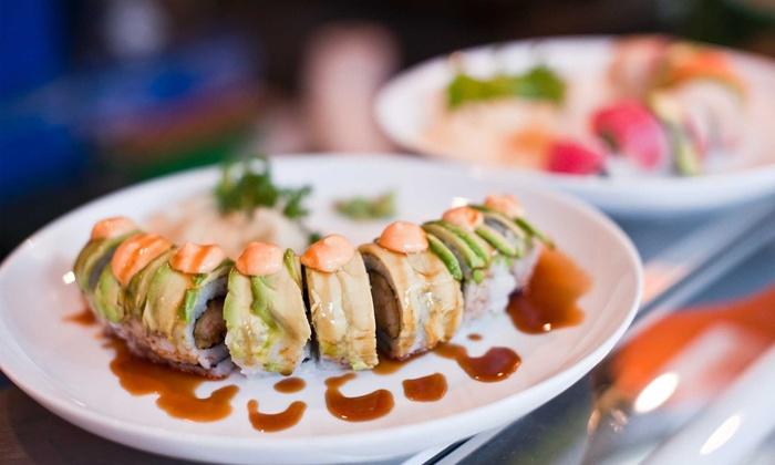 Moshi Moshi Sushi - Seattle: $25 for $40 Worth of Japanese Cuisine at Moshi Moshi Sushi