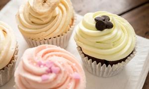Brain Freeze: C$10 Worth of Dessert or Six Custom Cupcakes & Six Custom Cookies at Brain Freeze (Up to 58% Off)