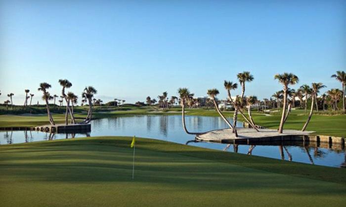 Palm Beach Par 3 Course - Palm Beach Par 3 Gof Course: 18-Hole Golf Outing for Two Including Cart or 12 Rounds of Golf at Palm Beach Par 3 Golf Course (Up to 78% Off)