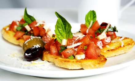 Italian Cuisine at La Vita E Bella Cafe (Up to 42% Off). Two Options Available.