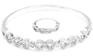 (Exclusive)  Bracelet et Bague Infinity -79% réduction