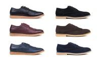 Harrison Men's Wingtip Shoes Collection (Multiple Colors)