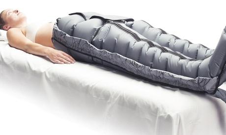 Bis zu 9x 45 Minuten apparative Lymphdrainage in der Eiszeitlounge Leipzig