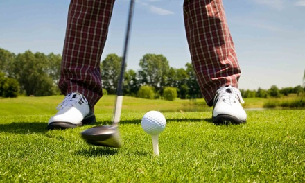18-Hole Round of Golf for Two, Three or Four with Cart and Range Balls at Aliante Golf Club (Up to 57% Off)