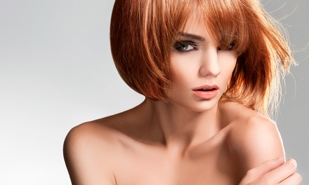 Haircut Package with Optional Single-Process Color or Partial Highlights at Crush Salon and Spa (Up to 57% Off)